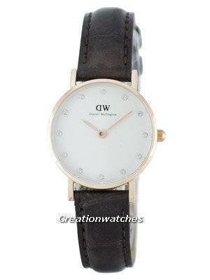 Daniel Wellington Classy York Quartz Crystal Accent DW00100061 (0902DW) Women's Watch