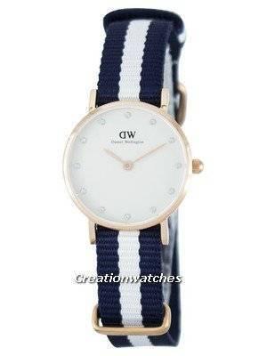 Daniel Wellington Classy Glasgow Quartz Crystal Accent DW00100066 (0908DW) Women's Watch
