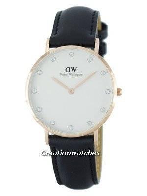 Daniel Wellington Classy Sheffield Quartz Crystal Accent DW00100076 (0951DW) Women's Watch