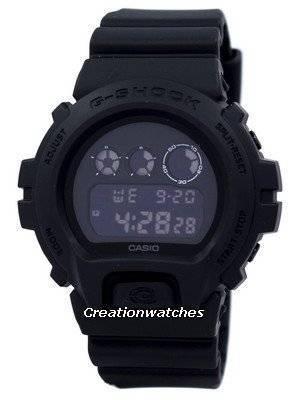 Casio G-Shock Shock Resistant Multi Alarm Digital DW-6900BB-1 DW6900BB-1 Men's Watch