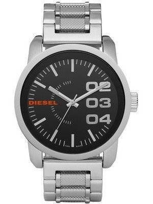 Diesel Black Dial Stainless Steel WR100M DZ1370 Men's Watch