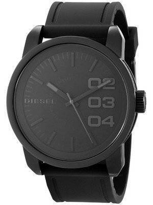 Diesel Not So Basic Black Dial Rubber Strap DZ1446 Men's Watch