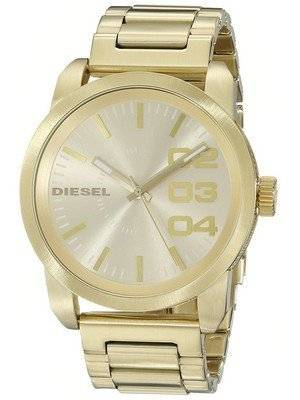 Diesel Franchise Gold Ion-plated Double Down DZ1466 Men's Watch