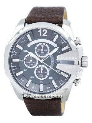 Diesel Mega Chief Chronograph Grey Dial DZ4290 Men's Watch