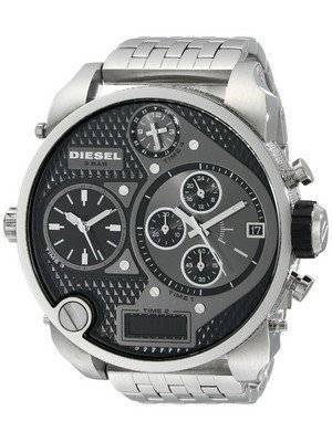 Diesel Chronograph Black Multi Dial Ana-Digi Display DZ7221 Men's Watch