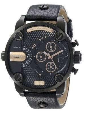 Diesel Little Daddy 2-Time Zone Chronograph DZ7291 Men's Watch