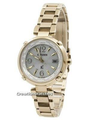 Citizen Eco-Drive XC Radio Controlled World Time Titanium EC1042-51A Women's Watch