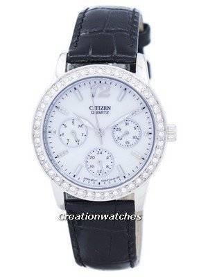 Citizen Chronograph Quartz Diamond Accent ED8090-11D Women's Watch