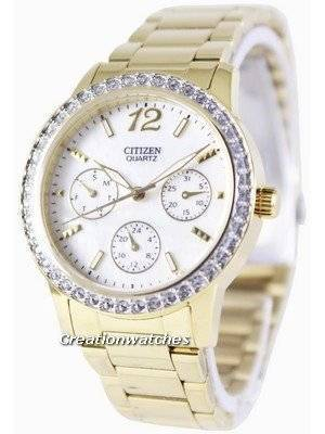 Citizen Quartz Swarovski Crystals ED8092-58D Women's Watch