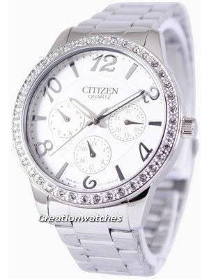 Citizen Quartz Swarovski Crystals ED8120-54A Women's Watch