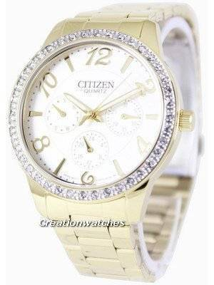 Citizen Quartz Swarovski Crystals ED8122-59A Women's Watch