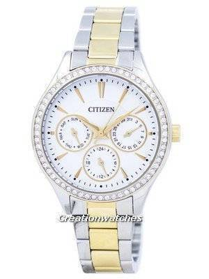 Citizen Quartz Diamond Accent ED8164-59A Women's Watch