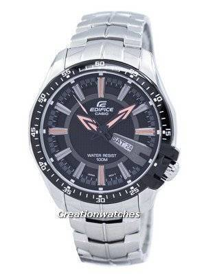 Casio Edifice Analog Multi-Color Dial EF-130D-1A5V Men's Watch