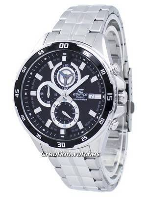 Casio Edifice Illuminator Chronograph Quartz EFR-547D-1AV EFR547D-1AV Men's Watch