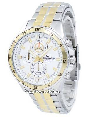 Casio Edifice Illuminator Chronograph Quartz EFR-547SG-7A9V EFR547SG-7A9V Men's Watch