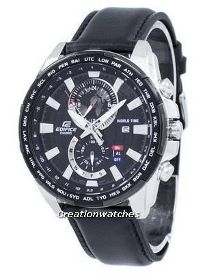 Casio Edifice World Time Quartz EFR-550L-1AV EFR550L-1AV Men's Watch