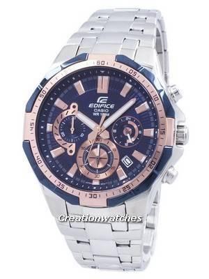 Casio Edifice Chronograph Quartz EFR-554D-2AV EFR554D-2AV Men's Watch
