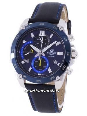 Casio Edifice Chronograph Quartz EFR-557BL-2AV EFR557BL-2AV Men's Watch
