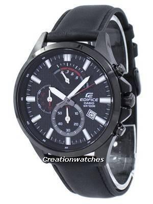 Casio Edifice Chronograph Quartz EFV-530BL-1AV EFV530BL-1AV Men's Watch