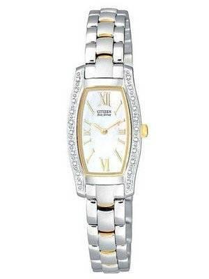 Citizen Eco Diamond Two-Tone EG2554-58D Women's Watch