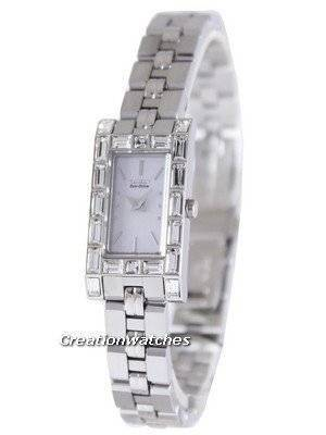 Citizen Eco-Drive Swarovski Crystal EG2606-56D Women's Watch