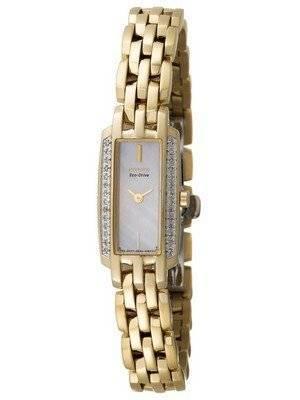 Citizen Silhouette Eco-Drive Diamonds EG2642-52D Women's Watch