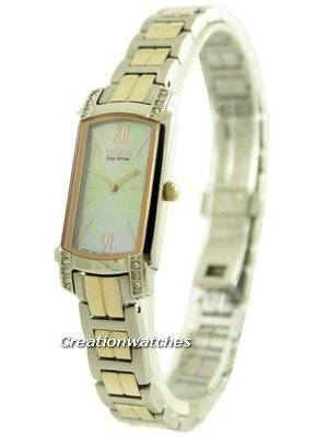 Citizen Silhouette Eco-Drive Swarovski Crystals EG2726-54D Women's Watch