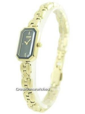Citizen Eco-Drive Gold Tone Silhouette EG2752-54E Women's Watch