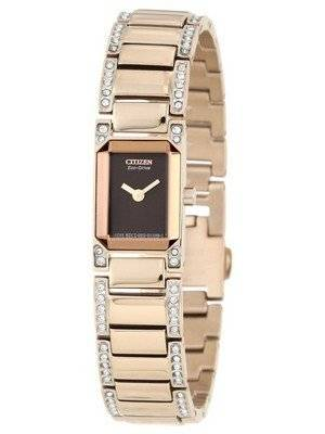 Citizen Silhouette Eco-Drive Swarovski Crystal EG2773-54X Women's Watch