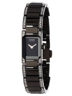 Citizen Eco-Drive Silhouette Swarovski Crystals EG2777-53E Women's Watch