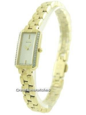 Citizen Eco-Drive Silhouette Swarovski Crystals EG2782-53A Women's Watch