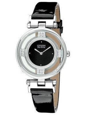 Citizen Stiletto Collection Eco-Drive 12 Diamonds EG3100-09E Women's Watch