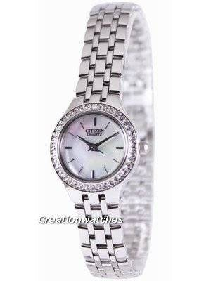 Citizen Quartz Swarovski Collection EJ6040-51D Women's Watch