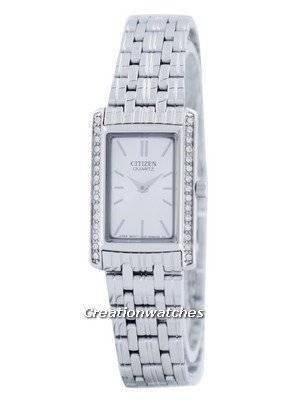 Citizen Quartz Swarovski Crystal Accent EK1120-55A Women's Watch