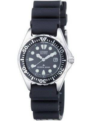 Citizen Eco-Drive Divers EP6000-07H EP6000-07 Womens Watch