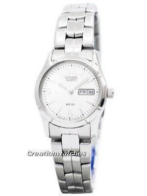 Citizen Quartz Silver Dial EQ0540-57A Women's Watch