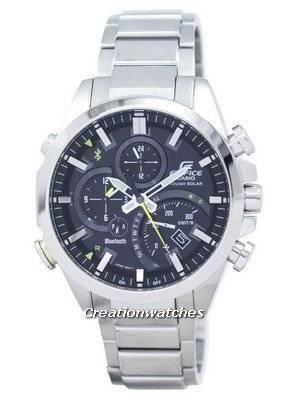 Casio Edifice Bluetooth Smartphone Link Dual Time Tough Solar EQB-501D-1A EQB501D-1A Men's Watch