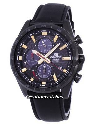 Casio Edifice Chronograph Solar EQS900CL-1AV EQS-900CL-1AV Men's Watch