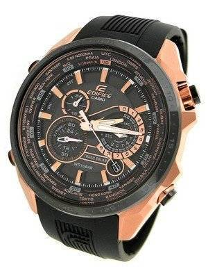 Casio Edifice Black X Rose Gold EQS500CG-1A Men's Watch