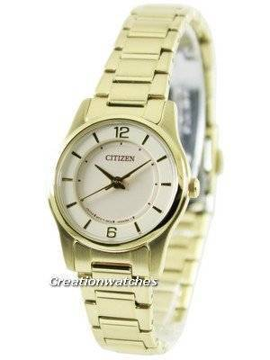Citizen Quartz Gold Tone ER0182-59A Women's Watch