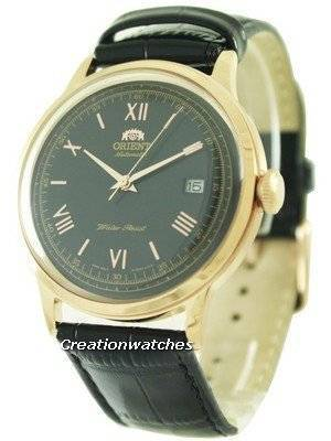 Orient Bambino Collection Black Dial ER24008B Men's Watch