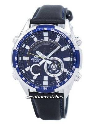 Casio Edifice Chronograph Tachymeter Analog Digital ERA-600L-2AV ERA600L-2AV Men's Watch