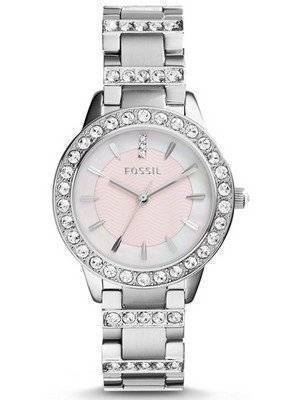 Fossil Jesse Crystal Mother of Pearl ES2189 Women's Watch