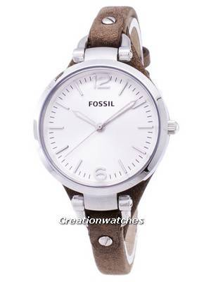 Fossil Georgia Silver Dial ES3060 Women's Watch