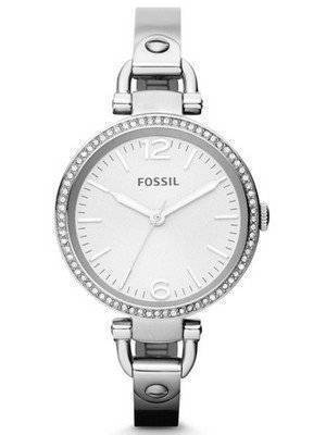 Fossil Georgia Glitz Bangle Crystal ES3225 Women's Watch
