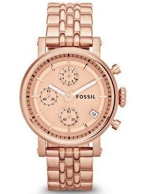 Fossil Original Boyfriend Chronograph ES3380 Women's Watch