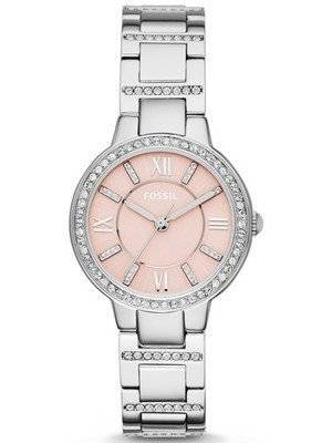 Fossil Virginia Analog Crystal-Accented ES3504 Women's Watch