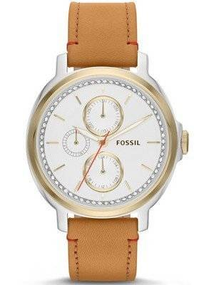 Fossil Chelsey Multifunction Tan Leather Strap ES3523 Women's Watch