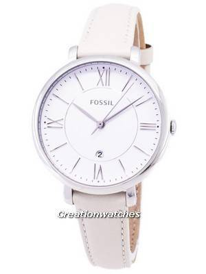 Fossil Jacqueline Quartz White Dial ES3793 Women's Watch