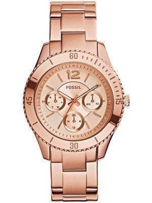 Fossil Stella Multifunction Rose Gold Stainless-Steel ES3815 Women's Watch